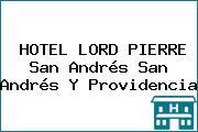 HOTEL LORD PIERRE San Andrés San Andrés Y Providencia