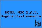 HOTEL MGR S.A.S. Bogotá Cundinamarca