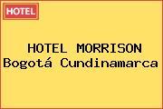 HOTEL MORRISON Bogotá Cundinamarca
