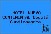 HOTEL NUEVO CONTINENTAL Bogotá Cundinamarca