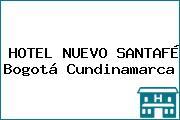 HOTEL NUEVO SANTAFÉ Bogotá Cundinamarca