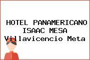 HOTEL PANAMERICANO ISAAC MESA Villavicencio Meta