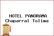 HOTEL PANORAMA Chaparral Tolima