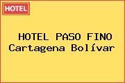 HOTEL PASO FINO Cartagena Bolívar