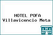 HOTEL POFA Villavicencio Meta