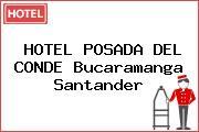 HOTEL POSADA DEL CONDE Bucaramanga Santander