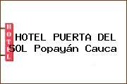 HOTEL PUERTA DEL SOL Popayán Cauca