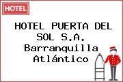 HOTEL PUERTA DEL SOL S.A. Barranquilla Atlántico