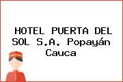 HOTEL PUERTA DEL SOL S.A. Popayán Cauca