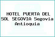 HOTEL PUERTA DEL SOL SEGOVIA Segovia Antioquia