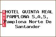 HOTEL QUINTA REAL PAMPLONA S.A.S. Pamplona Norte De Santander