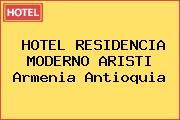 HOTEL RESIDENCIA MODERNO ARISTI Armenia Antioquia