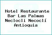 Hotel Restaurante Bar Las Palmas Neclocli Necoclí Antioquia