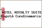 HOTEL ROYALTY SUITE Bogotá Cundinamarca