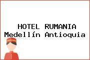 HOTEL RUMANIA Medellín Antioquia