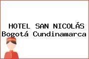 HOTEL SAN NICOLÁS Bogotá Cundinamarca
