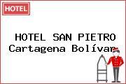 HOTEL SAN PIETRO Cartagena Bolívar
