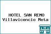 HOTEL SAN REMO Villavicencio Meta