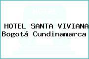 HOTEL SANTA VIVIANA Bogotá Cundinamarca