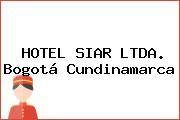 HOTEL SIAR LTDA. Bogotá Cundinamarca