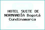 HOTEL SUITE DE NORMANDÍA Bogotá Cundinamarca