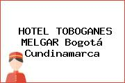 HOTEL TOBOGANES MELGAR Bogotá Cundinamarca