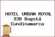 HOTEL URBAN ROYAL 93B Bogotá Cundinamarca