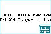HOTEL VILLA MARITZA MELGAR Melgar Tolima