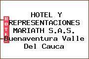HOTEL Y REPRESENTACIONES MARIATH S.A.S. Buenaventura Valle Del Cauca