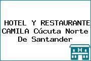 HOTEL Y RESTAURANTE CAMILA Cúcuta Norte De Santander