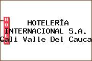 HOTELERÍA INTERNACIONAL S.A. Cali Valle Del Cauca