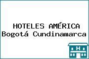 HOTELES AMÉRICA Bogotá Cundinamarca