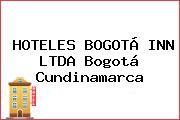 HOTELES BOGOTÁ INN LTDA Bogotá Cundinamarca