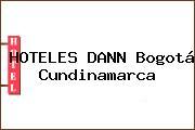 HOTELES DANN Bogotá Cundinamarca