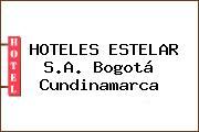 HOTELES ESTELAR S.A. Bogotá Cundinamarca