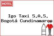 Igo Taxi S.A.S. Bogotá Cundinamarca