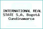 INTERNATIONAL REAL STATE S.A. Bogotá Cundinamarca