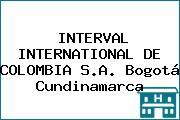 INTERVAL INTERNATIONAL DE COLOMBIA S.A. Bogotá Cundinamarca