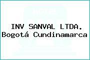 INV SANVAL LTDA. Bogotá Cundinamarca