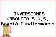 INVERSIONES ARBOLOCO S.A.S. Bogotá Cundinamarca