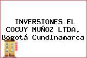 INVERSIONES EL COCUY MUÑOZ LTDA. Bogotá Cundinamarca