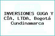 INVERSIONES GUGA Y CÍA. LTDA. Bogotá Cundinamarca