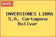 INVERSIONES LIBRA S.A. Cartagena Bolívar