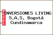 INVERSIONES LIVING S.A.S. Bogotá Cundinamarca