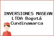 INVERSIONES MASEAN LTDA Bogotá Cundinamarca