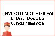 INVERSIONES VIGOVAL LTDA. Bogotá Cundinamarca
