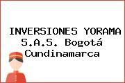 INVERSIONES YORAMA S.A.S. Bogotá Cundinamarca