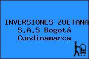 INVERSIONES ZUETANA S.A.S Bogotá Cundinamarca