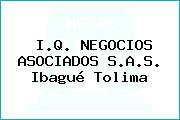 I.Q. NEGOCIOS ASOCIADOS S.A.S. Ibagué Tolima