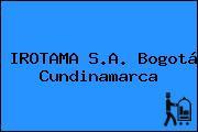 IROTAMA S.A. Bogotá Cundinamarca